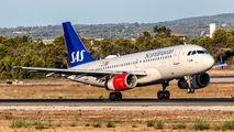 OY-KBT - SAS - Scandinavian Airlines Airbus A319 aircraft