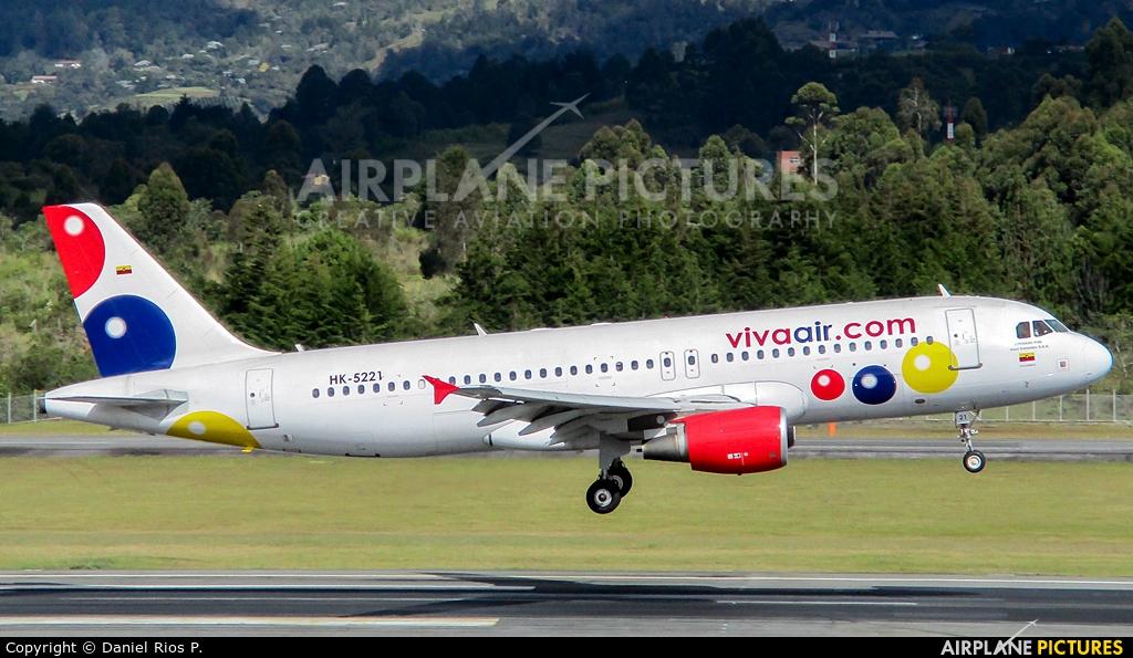 Viva Air HK-5221 aircraft at Medellin - Jose Maria Cordova Intl