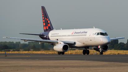 EI-FWG - Brussels Airlines Sukhoi Superjet 100