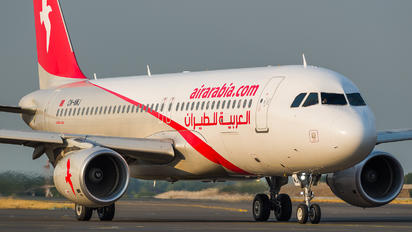 CN-NMJ - Air Arabia Maroc Airbus A320