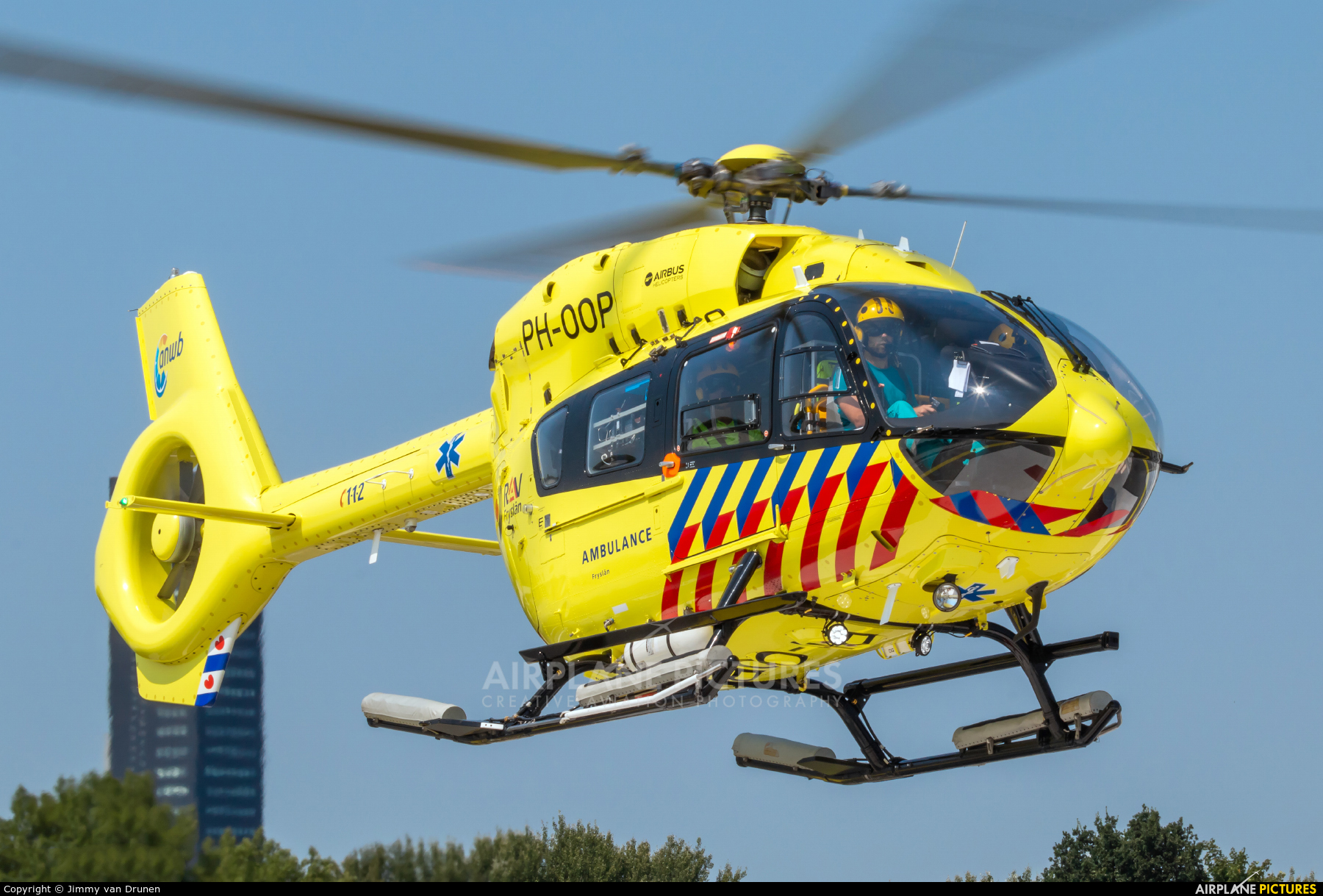 ANWB Medical Air Assistance PH-OOP aircraft at Off Airport - Netherlands