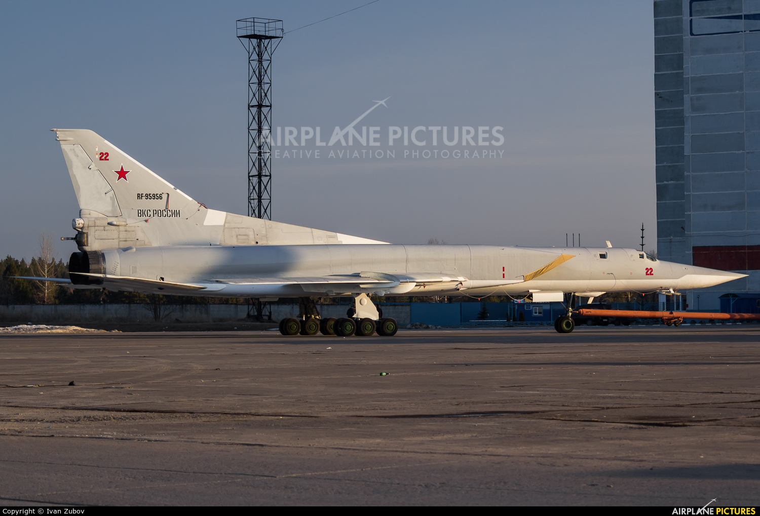 Russia - Air Force RF-95956 aircraft at Undisclosed Location