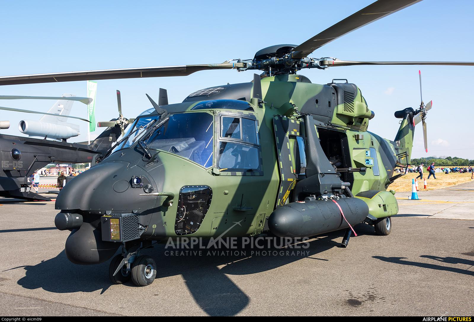 Finland - Army NH-221 aircraft at Fairford