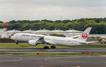 JA871J - JAL - Japan Airlines Boeing 787-9 Dreamliner