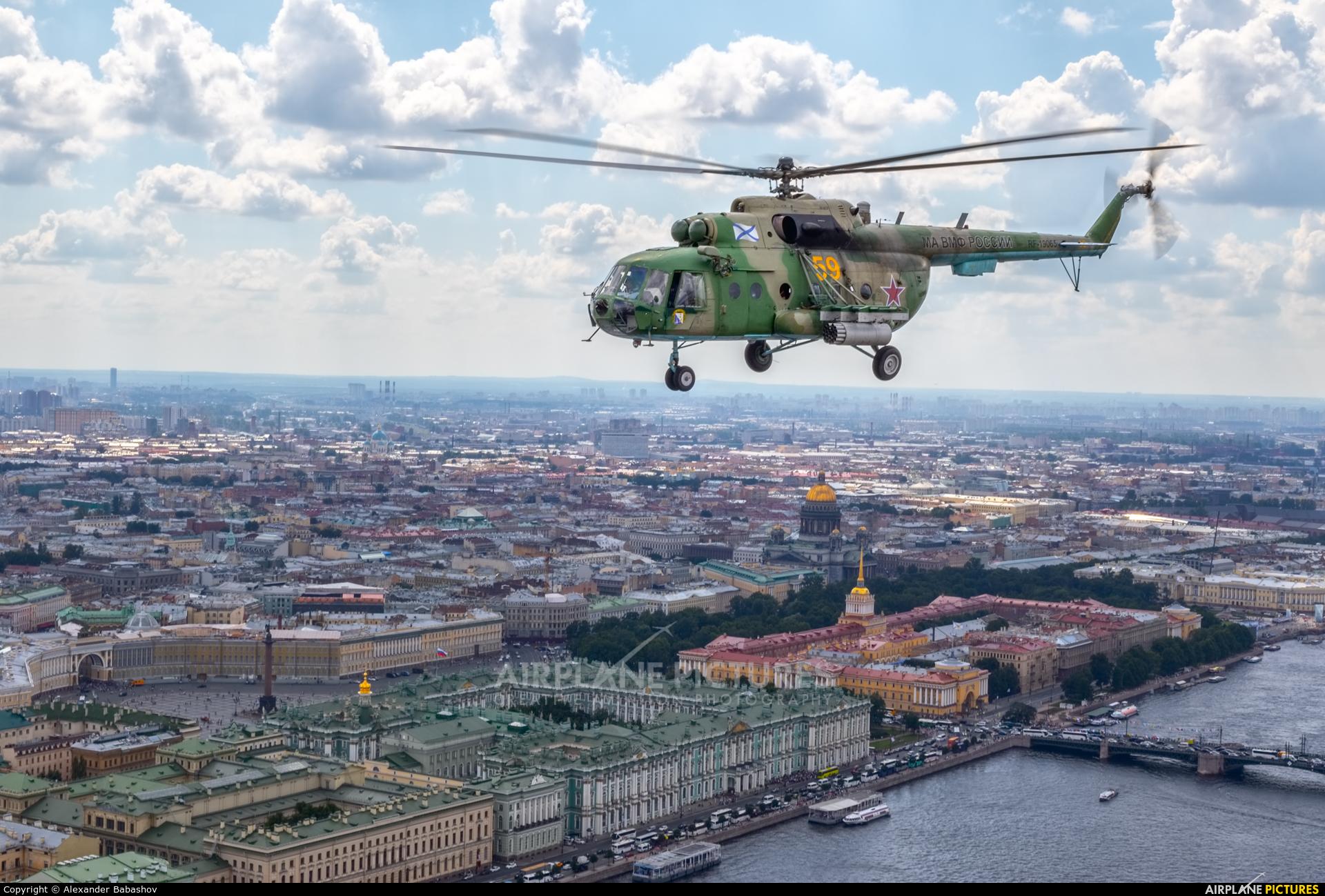Russia - Navy 59 aircraft at Saint-Petersburg