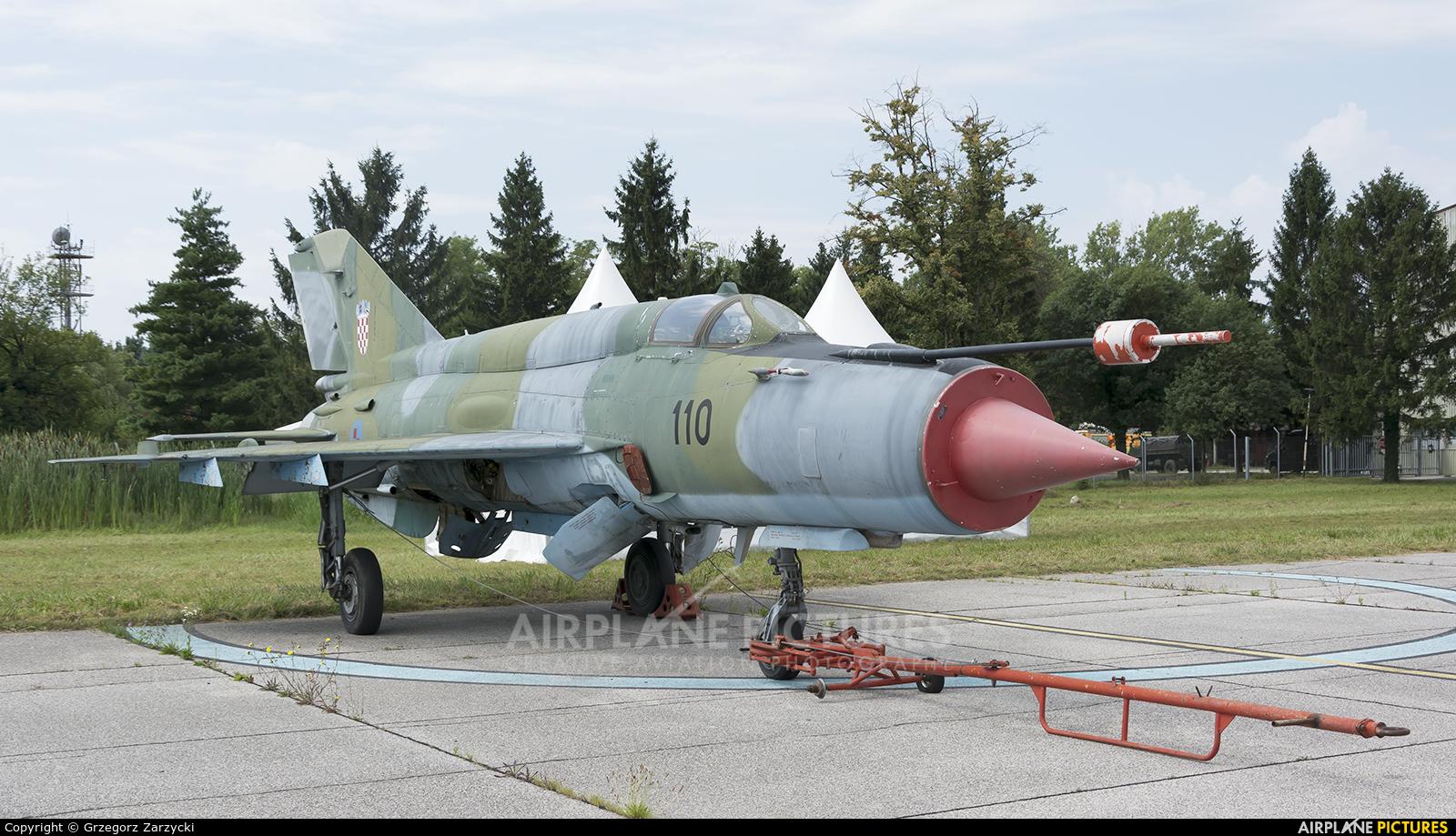 Croatia - Air Force 110 aircraft at Zagreb