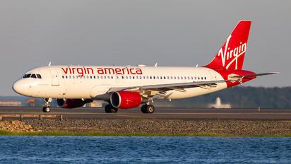 N626VA - Virgin America Airbus A320