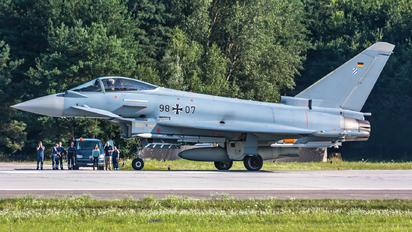 98+07 - Germany - Air Force Eurofighter Typhoon S