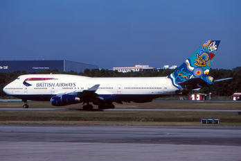 G-BNLN - British Airways Boeing 747-400