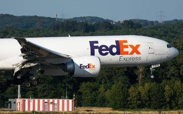 N858FD - FedEx Federal Express Boeing 777F