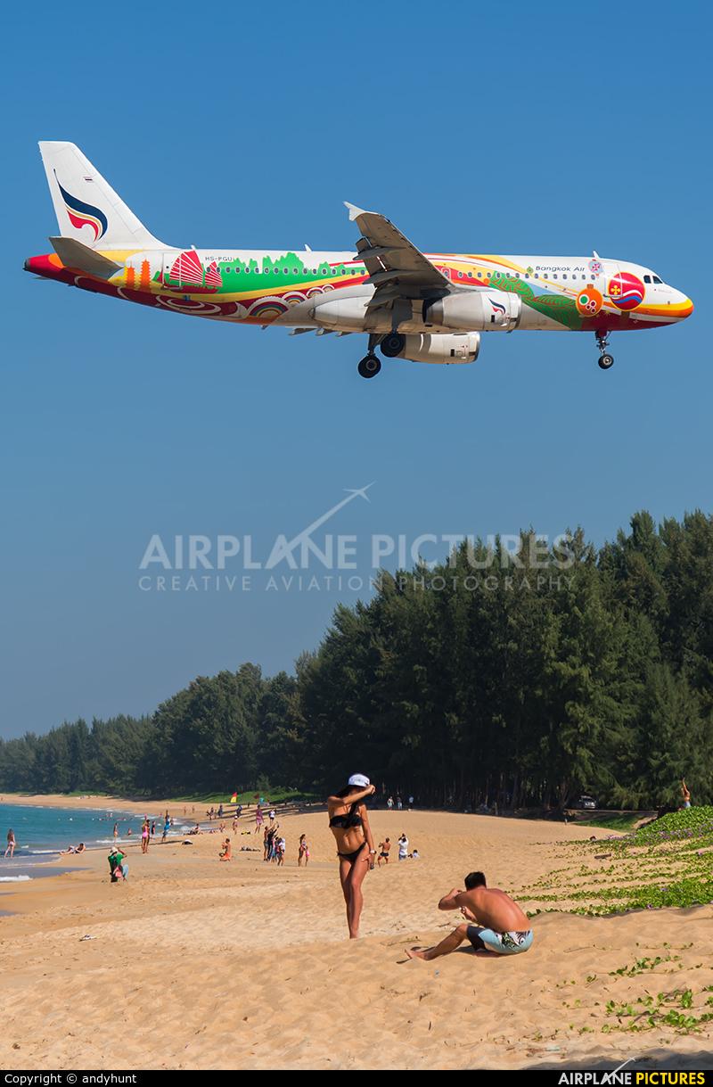 Bangkok Airways HS-PGU aircraft at Phuket