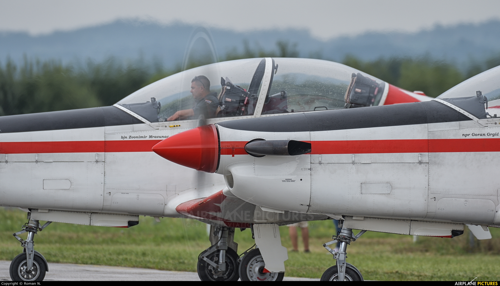 Croatia - Air Force 055 aircraft at Varazdin