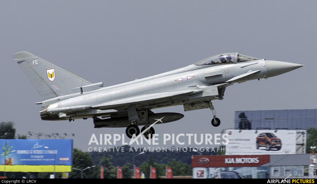 Royal Air Force ZK331 aircraft at Bucharest - Aurel Vlaicu Intl