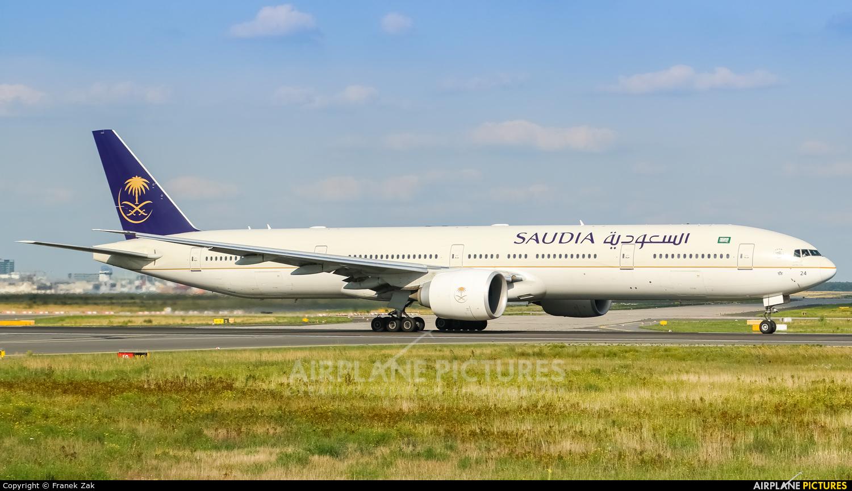 Saudi Arabian Airlines HZ-AK24 aircraft at Frankfurt
