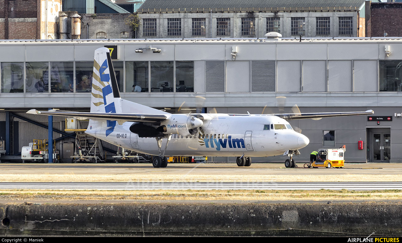 VLM Airlines OO-VLQ aircraft at London - City