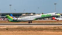 9H-MOX - Binter Canarias Bombardier CRJ-1000NextGen aircraft