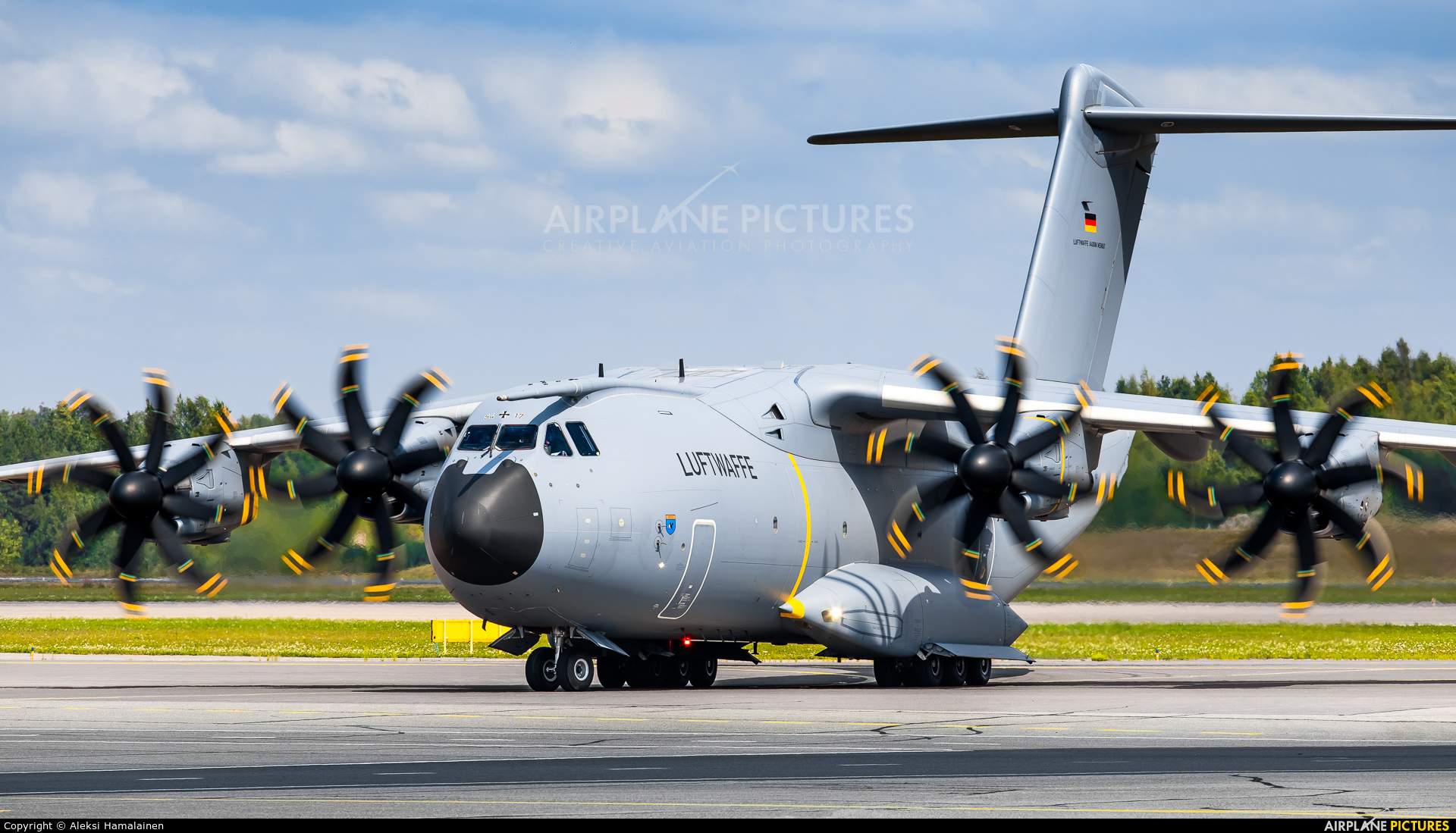 Germany - Air Force 54+17 aircraft at Helsinki - Vantaa
