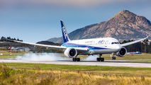 ANA 787-9 Dreamliner made a very rare charter flight from Tokyo to Bergen title=