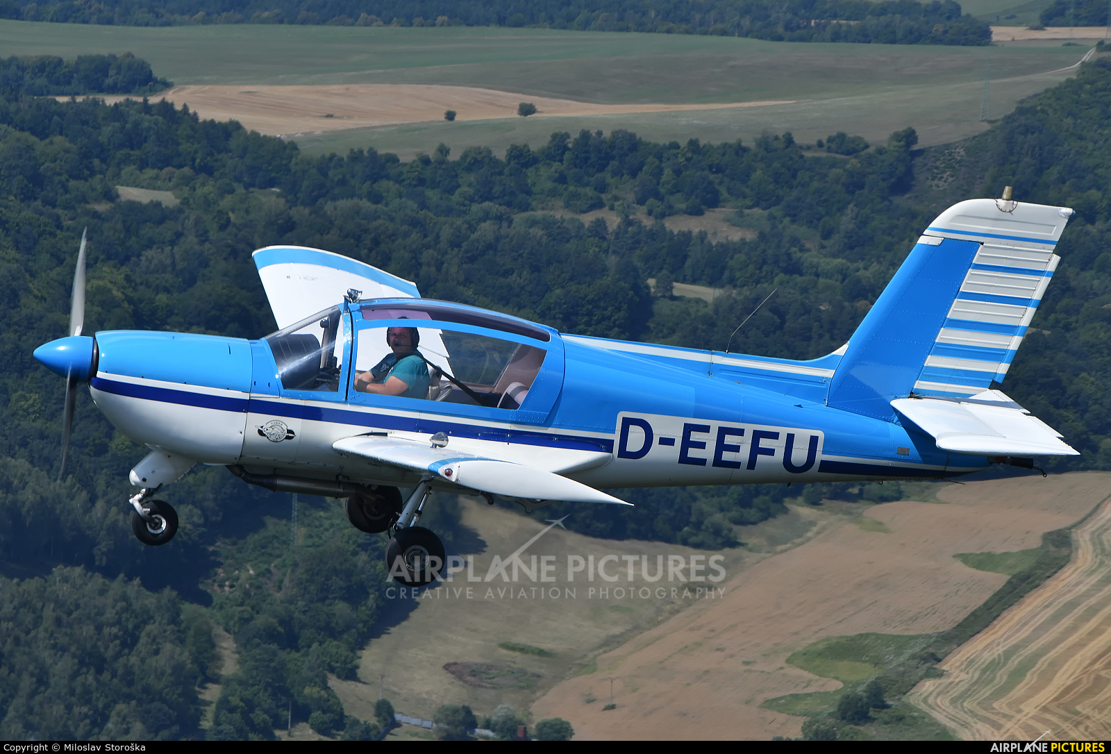 Private D-EFFU aircraft at In Flight - Slovakia