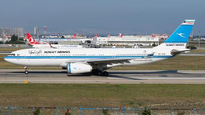 9K-APB - Kuwait Airways Airbus A330-200
