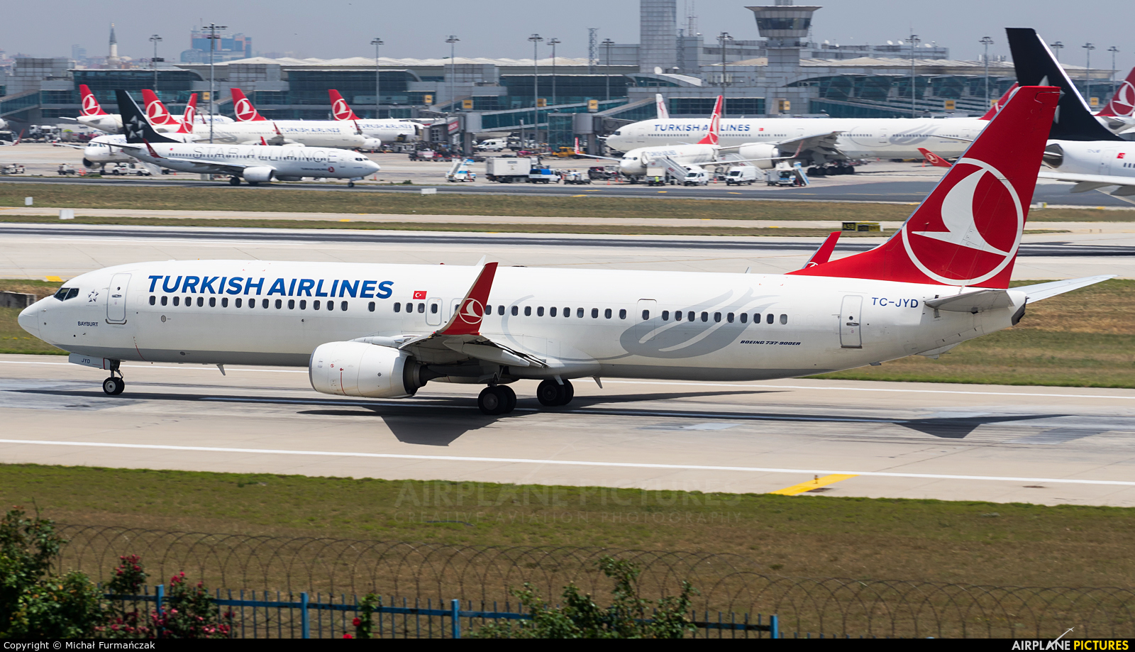 Turkish Airlines TC-JYD aircraft at Istanbul - Ataturk