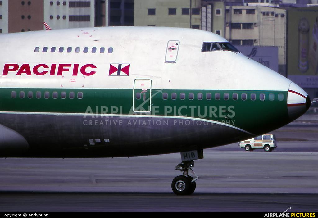 Cathay Pacific VR-HIB aircraft at HKG - Kai Tak Intl CLOSED