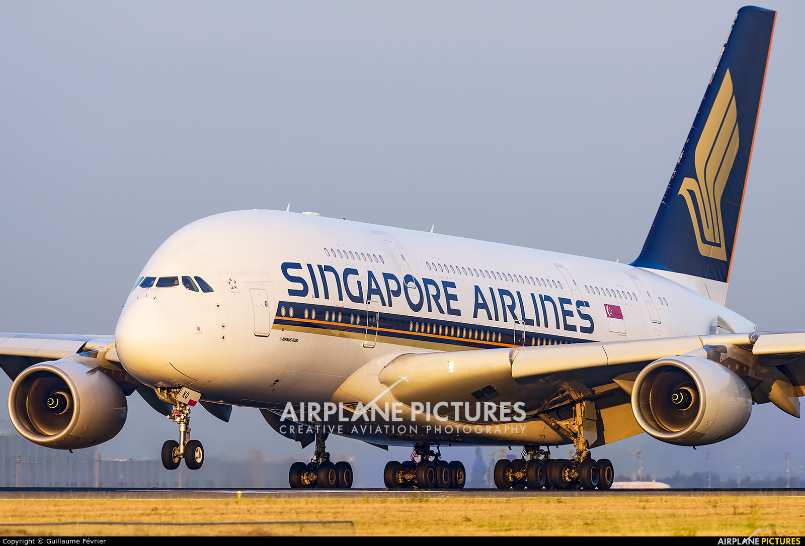 Singapore Airlines 9V-SKQ aircraft at Paris - Charles de Gaulle