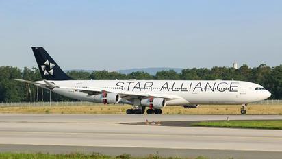 D-AIFA - Lufthansa Airbus A340-300