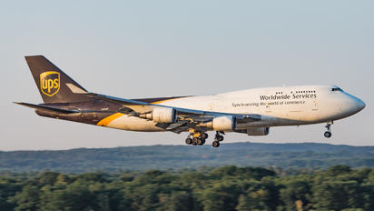 N578UP - UPS - United Parcel Service Boeing 747-400BCF, SF, BDSF