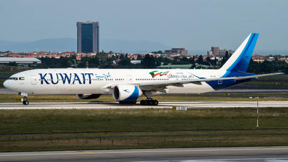 9K-AOL - Kuwait Airways Boeing 777-300ER