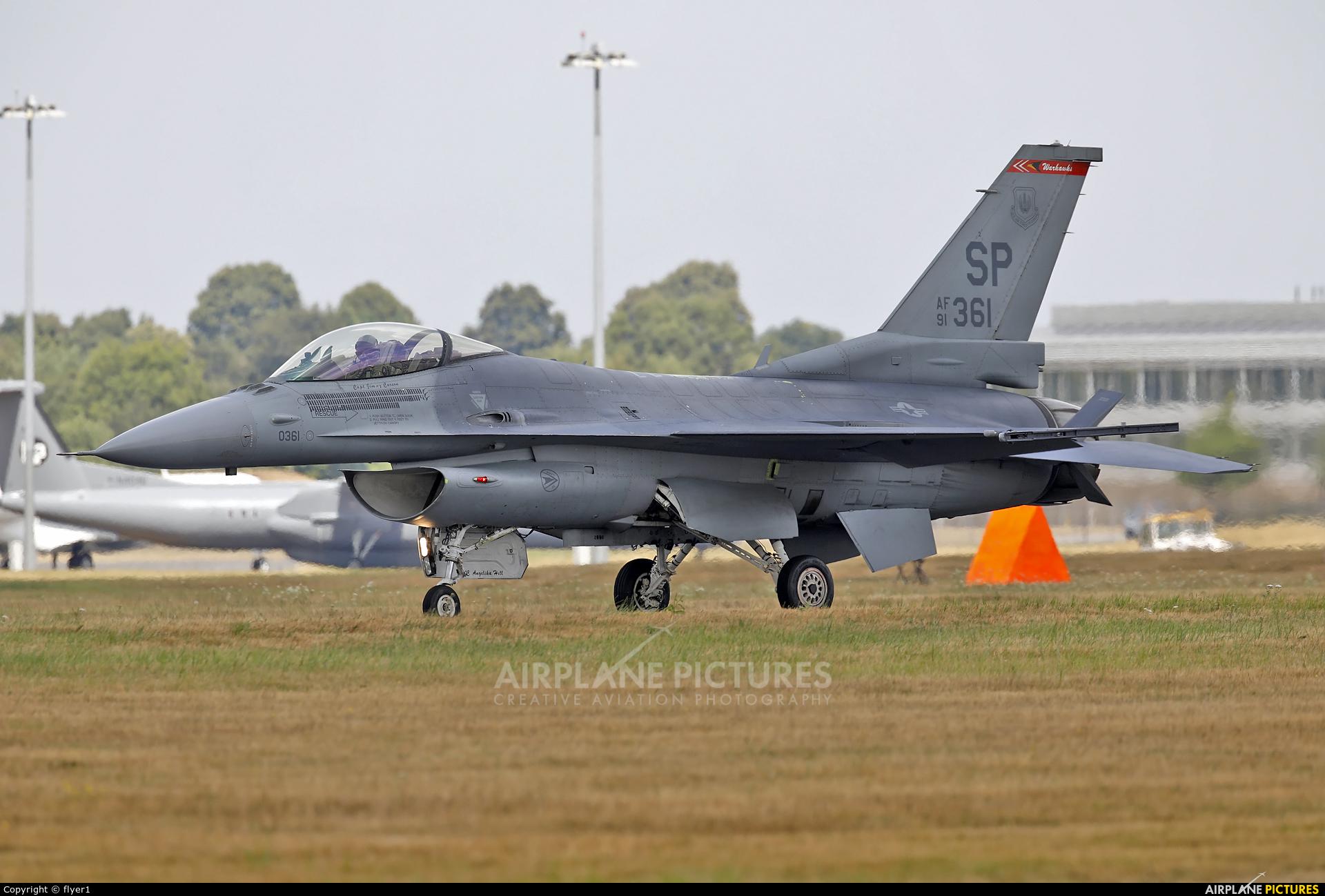 USA - Air Force 91-0361 aircraft at Farnborough