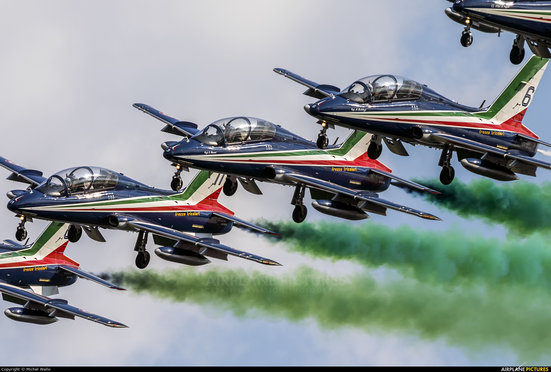 """France - Air Force """"Patrouille de France"""" MM54538 aircraft at Fairford"""
