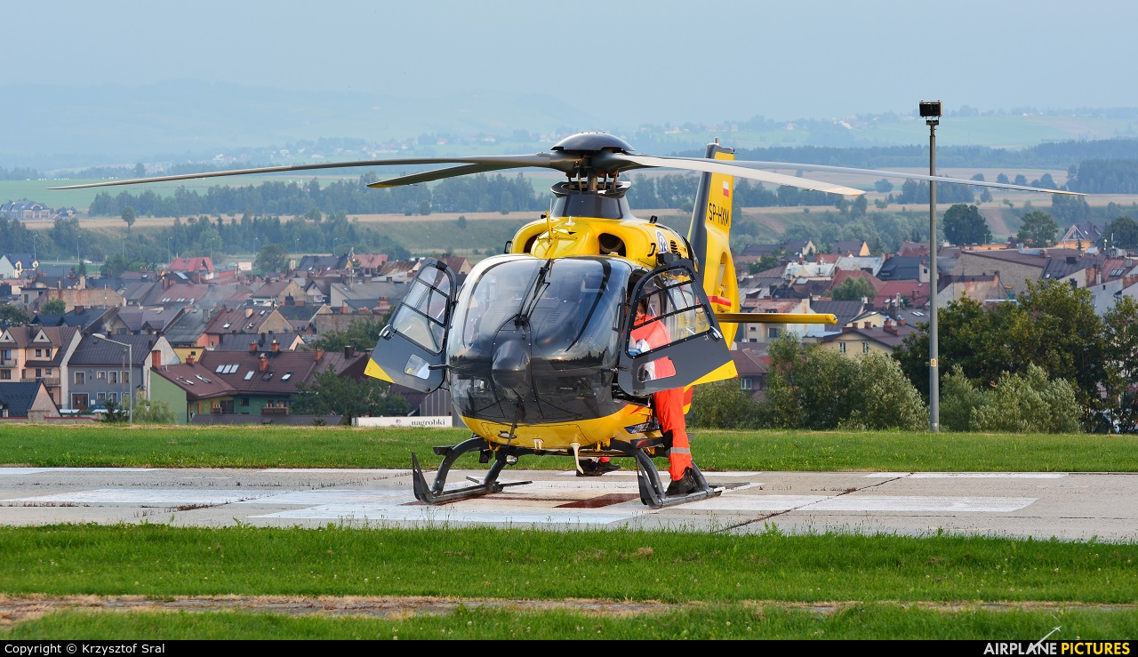 Polish Medical Air Rescue - Lotnicze Pogotowie Ratunkowe SP-HXM aircraft at Nowy Targ