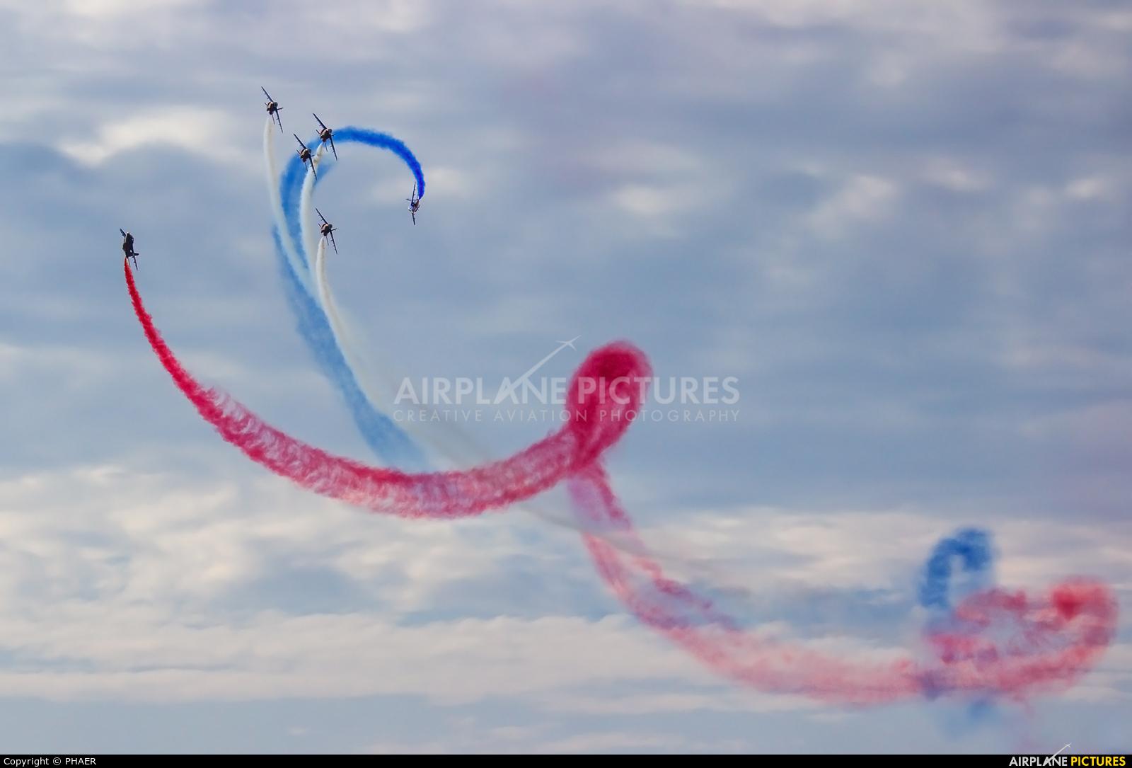 "France - Air Force ""Patrouille de France"" F-UGFC aircraft at Luneville"