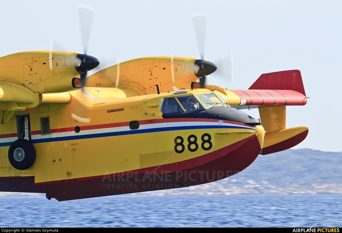 Croatia - Air Force 888 aircraft at Off Airport - Croatia