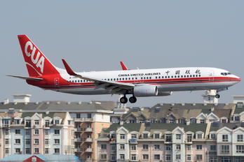 B-1989 - China United Airlines Boeing 737-800