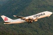 LX-JCV - Cargolux Boeing 747-400F, ERF aircraft