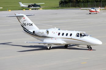 OE-FGK - Salzburg Jet Aviation Cessna 525 CitationJet