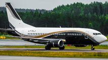 Rare visit of KlasJet Boeing 737 to Helsinki title=