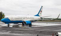 USAF Boeing C-40 Clipper visited Turku title=