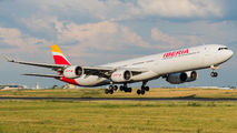 Iberia A340-600 visited Paris Orly title=