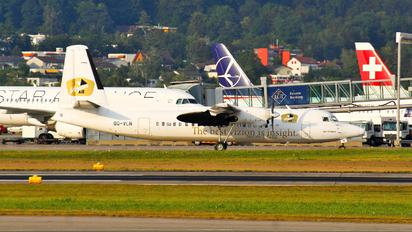 OO-VLN - Vizion Air Fokker 50