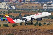 EC-MXV - Iberia Airbus A350-900 aircraft