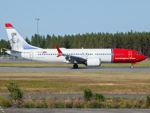 EI-FYH - Norwegian Air Shuttle Boeing 737-8 MAX