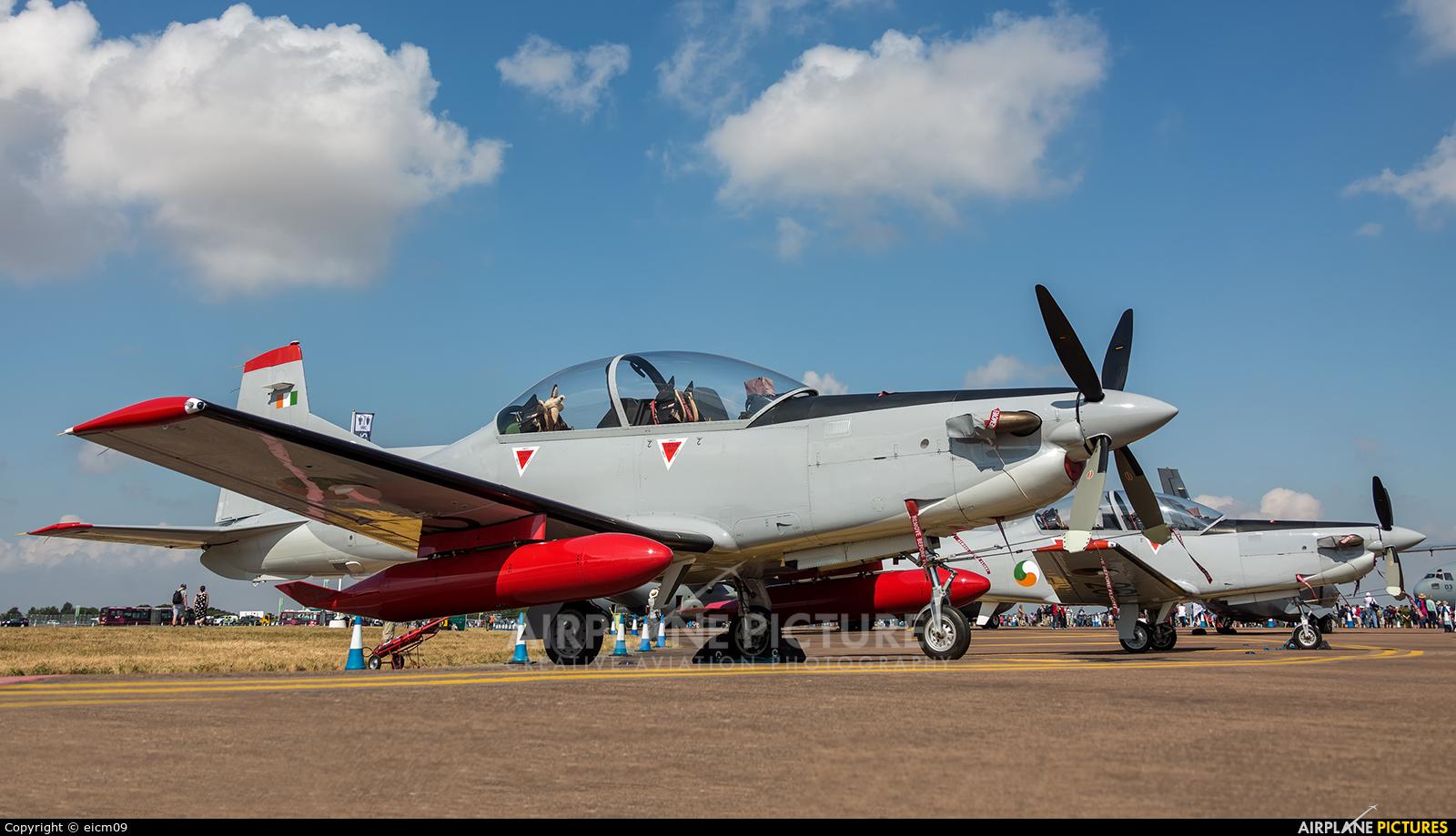 Ireland - Air Corps 260 aircraft at Fairford