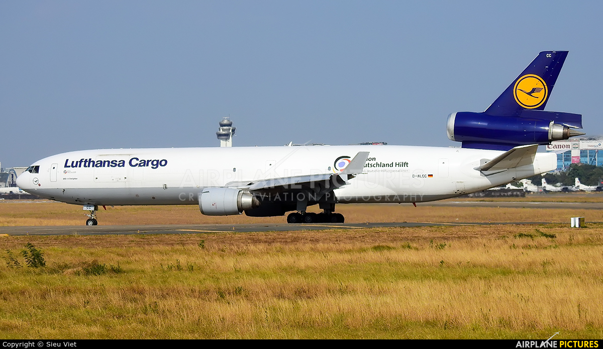 Lufthansa Cargo D-ALCC aircraft at Ho Chi Minh City - Tan Son Nhat Intl