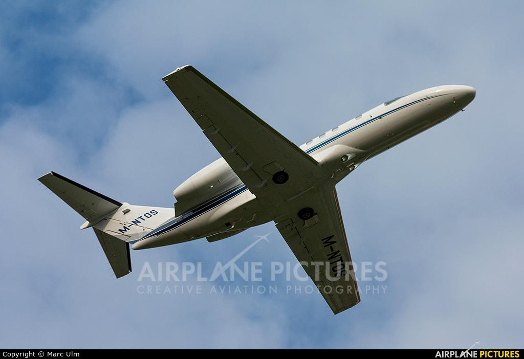 Private M-NTOS aircraft at Lugano - Agno