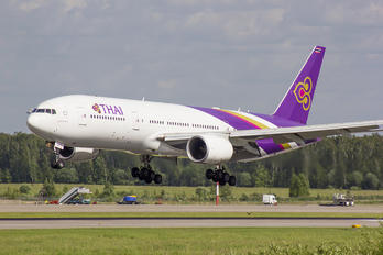 HS-TJS - Thai Airways Boeing 777-200ER