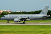 Hungarian Air Force A319 visited Bucharest title=