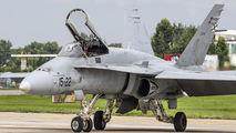 C.15-35 - Spain - Air Force McDonnell Douglas EF-18A Hornet aircraft